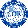 logo: council on occupational education