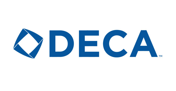 Logo: DECA career technical student organization