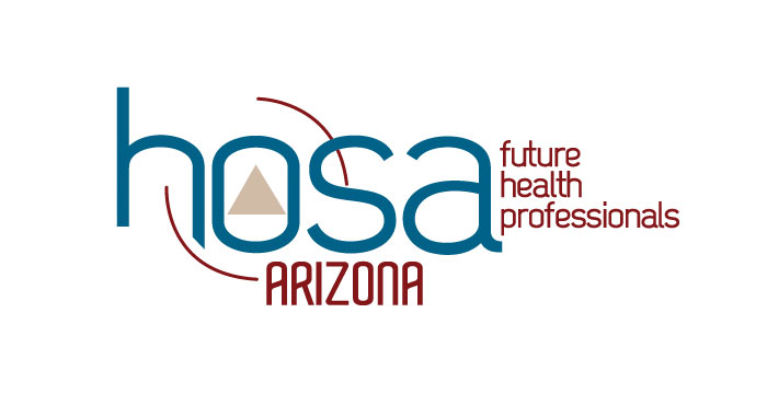 Logo: HOSA AZ career technical student organization
