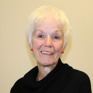 photo: board member Barbara Wyllie