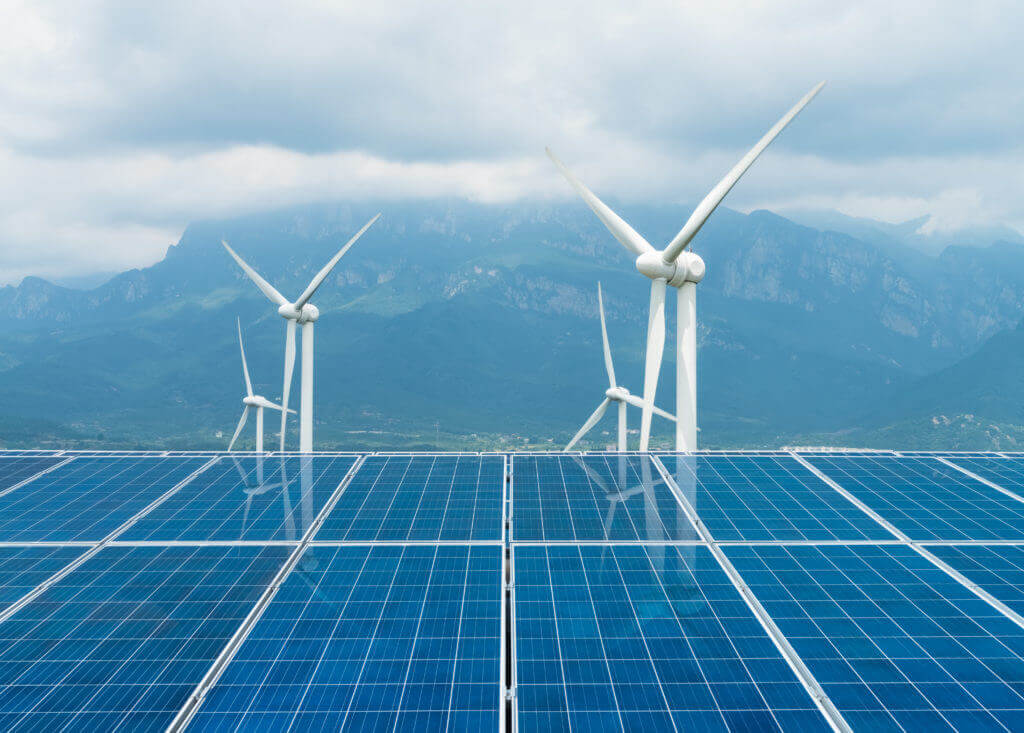photo of sustainable clean energy