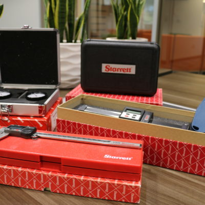 Image of tools donated to West-MEC students from Starrett