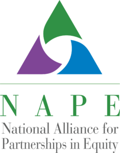 Logo: National Alliance for Partnerships in Equity