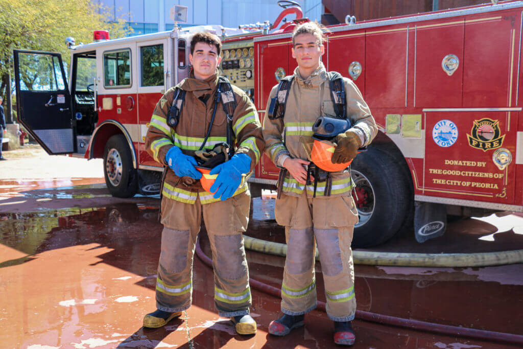 West-MEC Career Training Fire Science Program students
